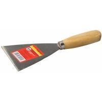 Шпатель ТЕВТОН с деревянной ручкой 80мм