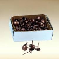 Гвозди мебельные медь 1,2*20 (120шт)