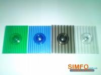 Термошайба для СПК 4мм синий упак. 25 штук
