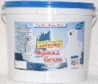 Краска в/э  белая для стен и потолков 7 кг