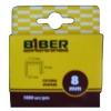 Скобы для степлера БИБЕР 8мм (1000 шт)