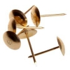 Гвозди мебельные золото 1,2*20 (120шт)