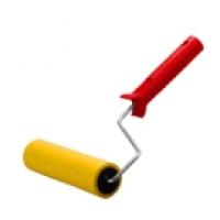 Валик прижимной, резиновый, 180*60мм